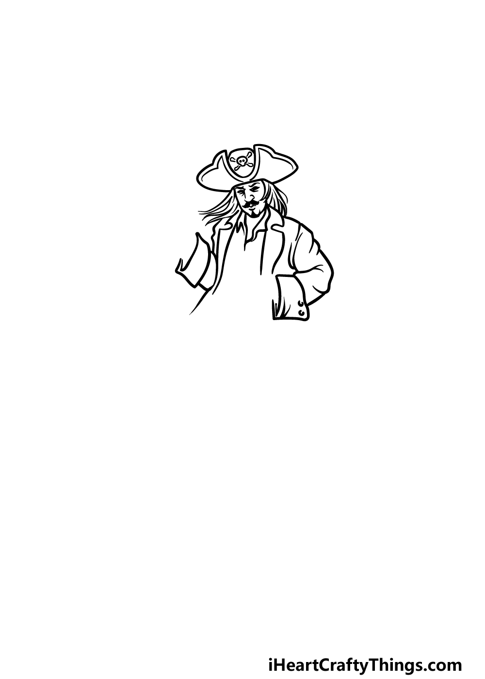 drawing a pirate step 3