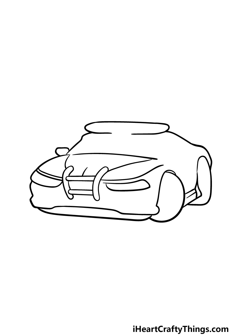 drawing a police car step 3