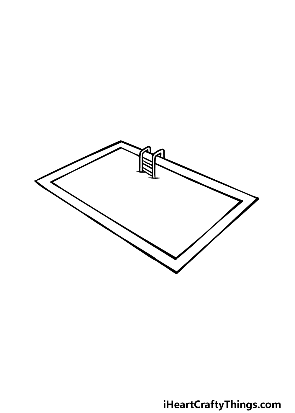 drawing a pool step 3