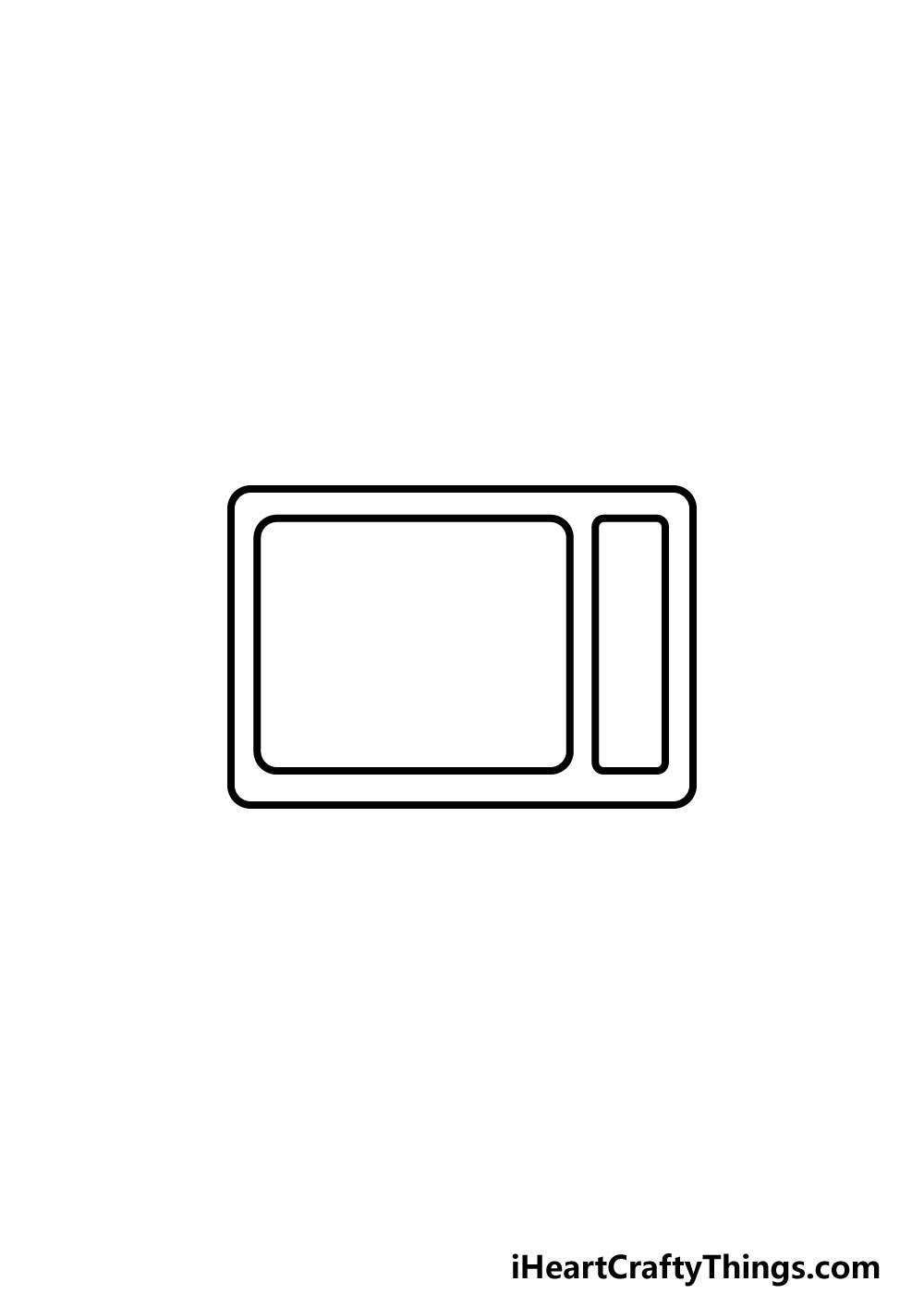 drawing a TV step 3