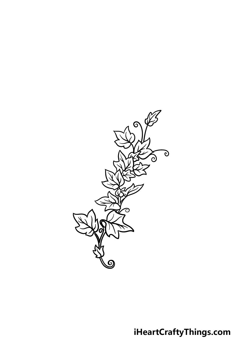 drawing vines step 4
