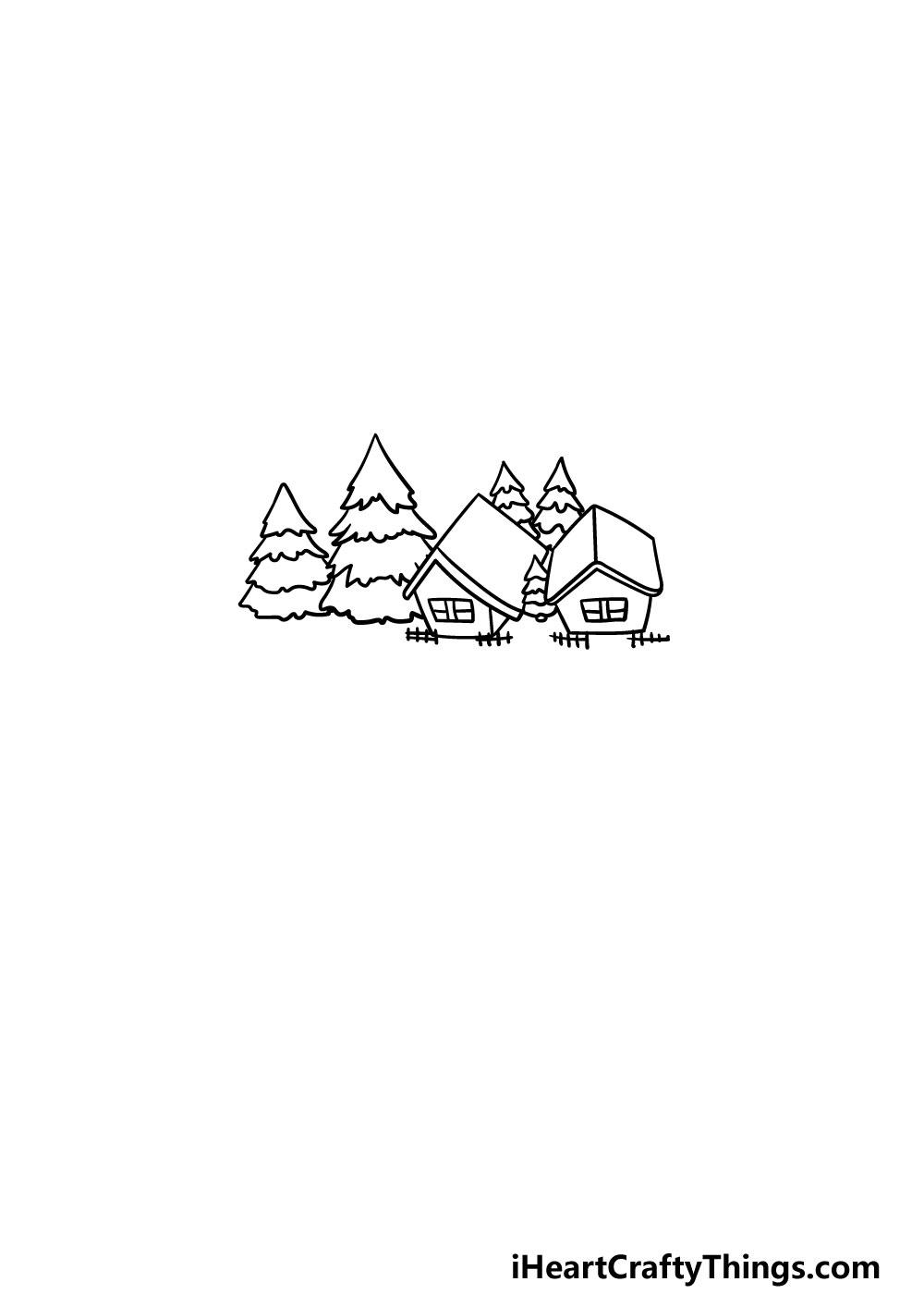 drawing a lake step 4