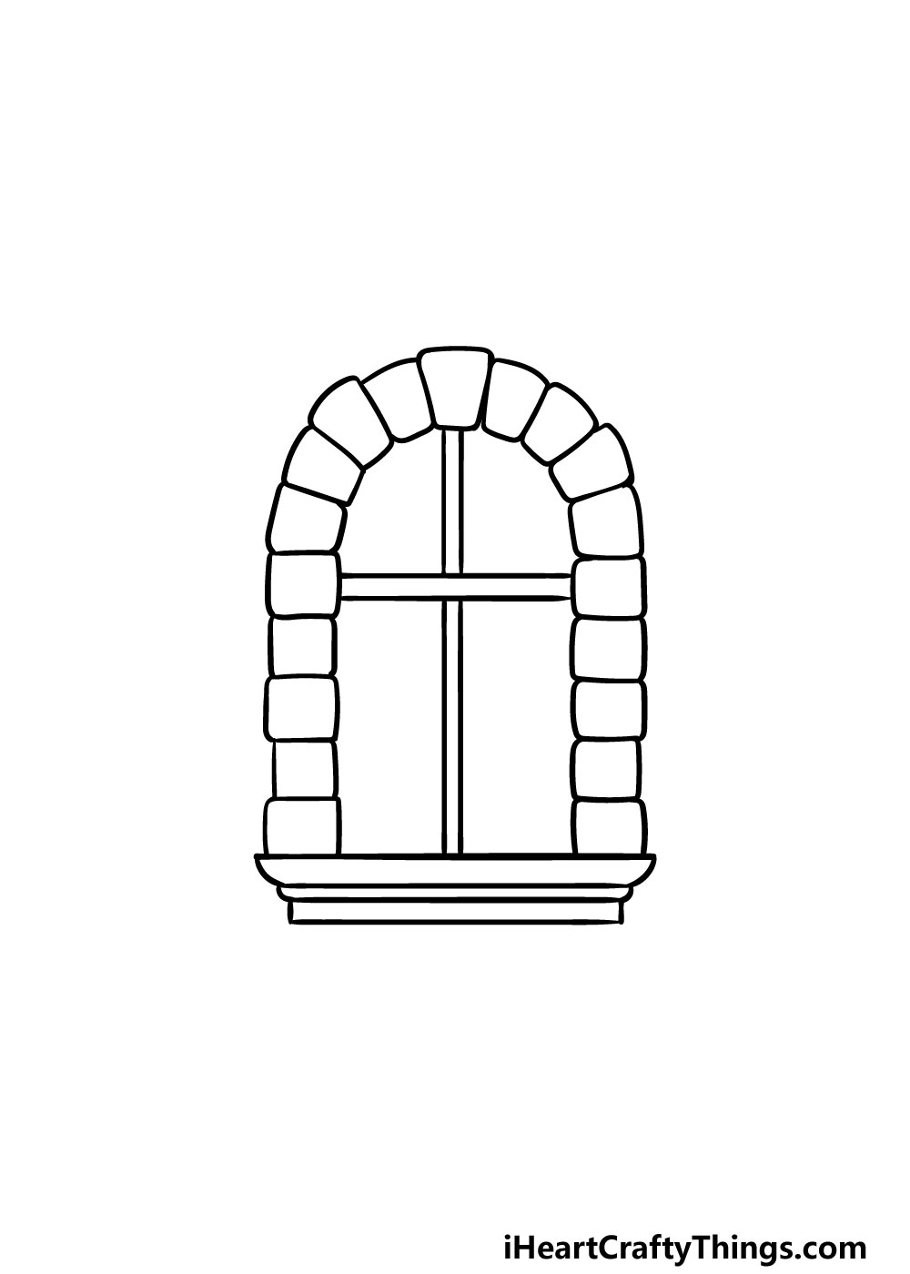 drawing a window step 4