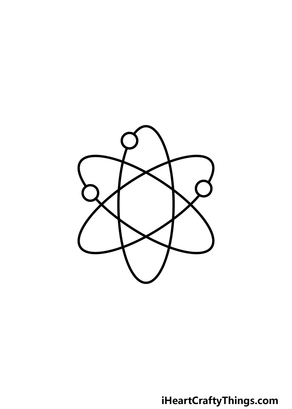 drawing an atom step 4