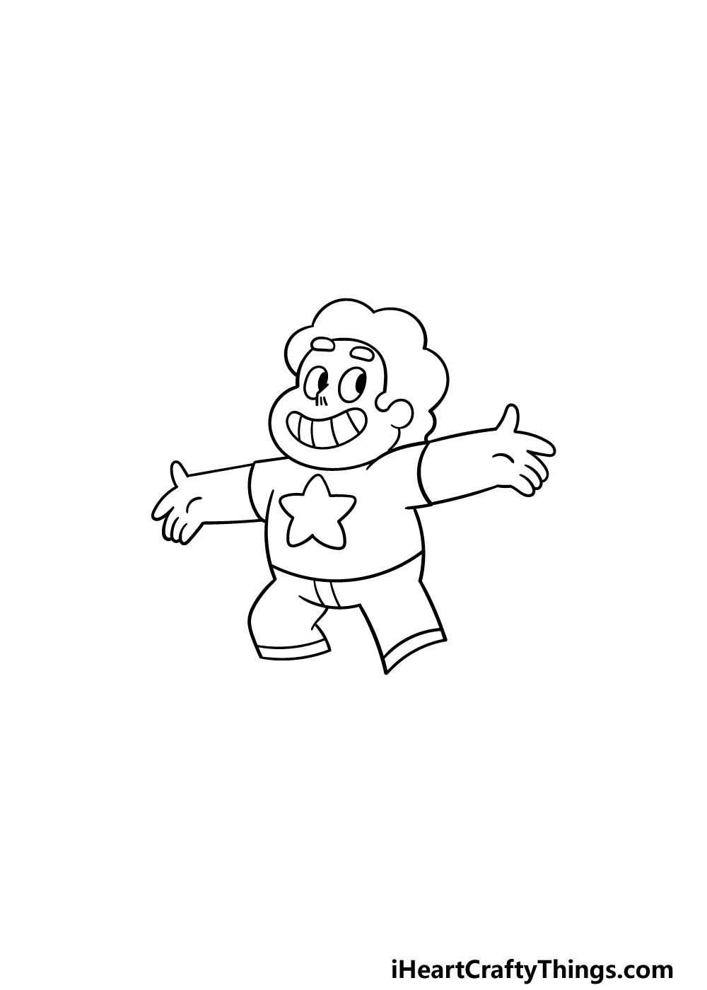 drawing steven universe step 4