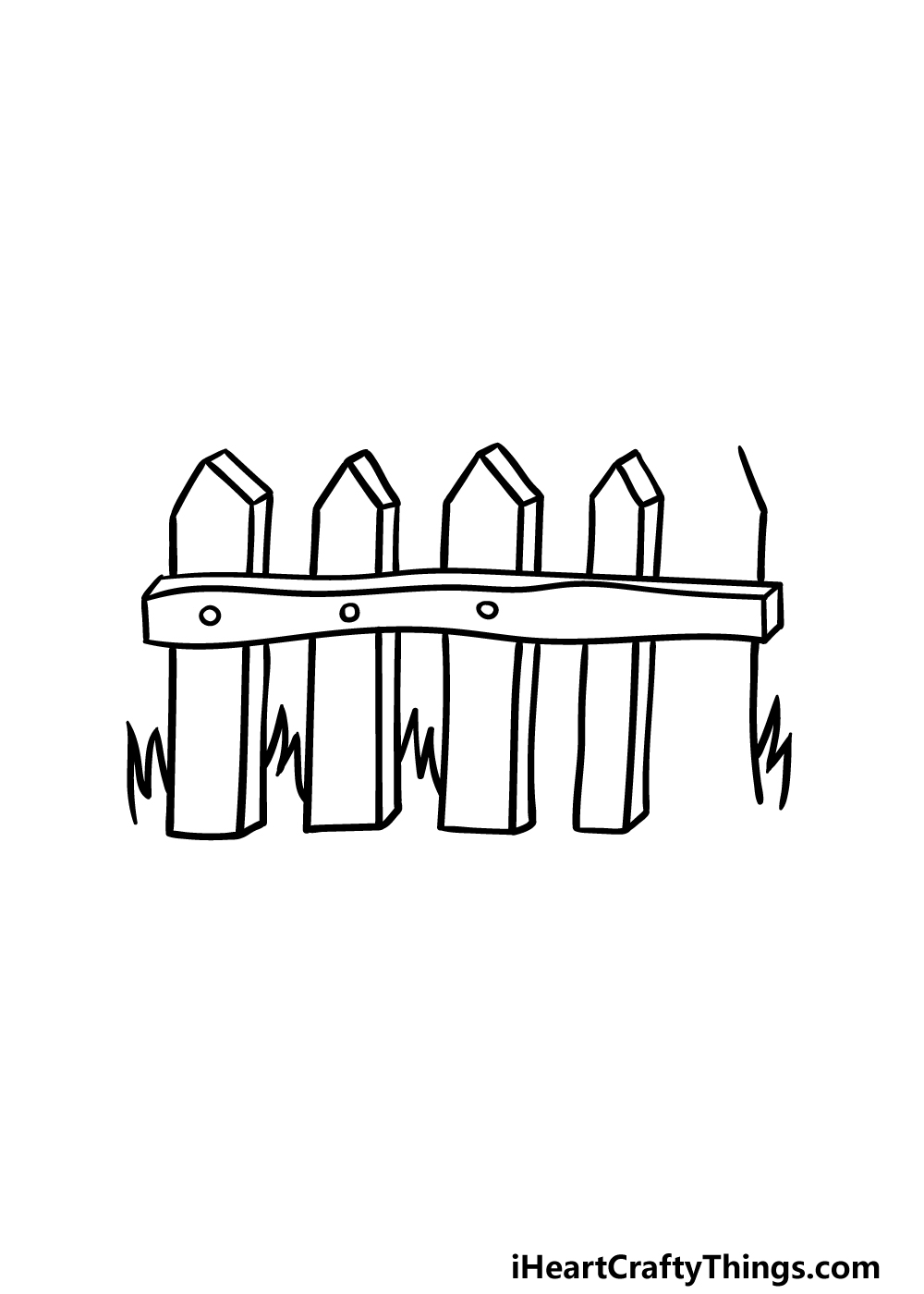 drawing fence step 4