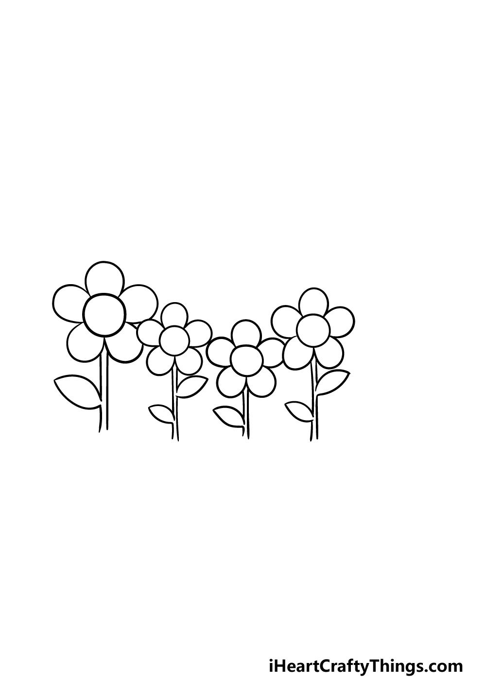 drawing a garden step 4