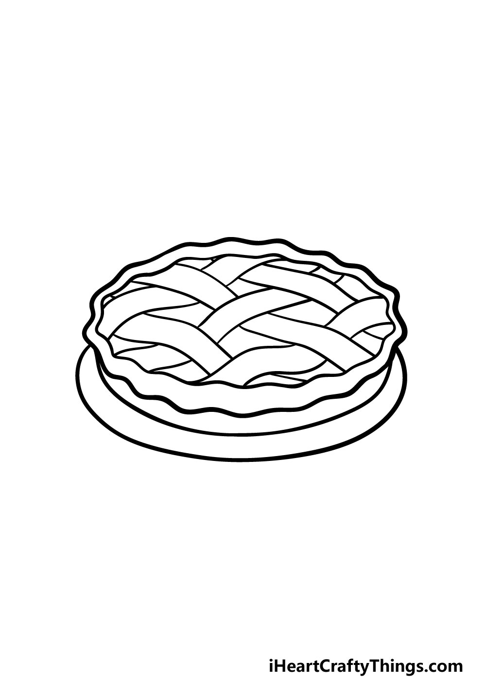 drawing a pie step 4