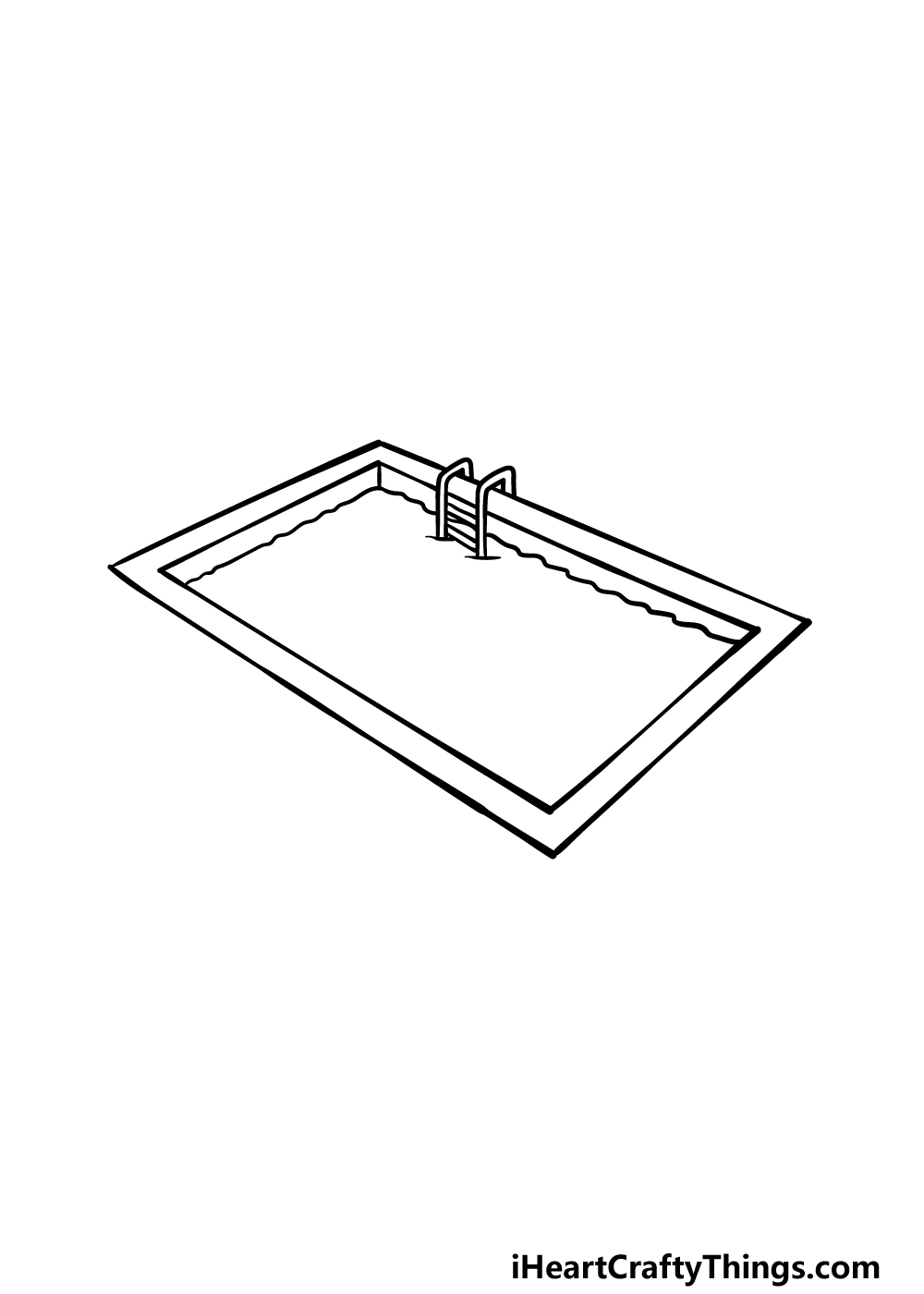 drawing a pool step 4