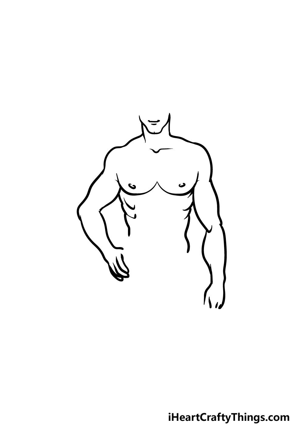 drawing torso step 5