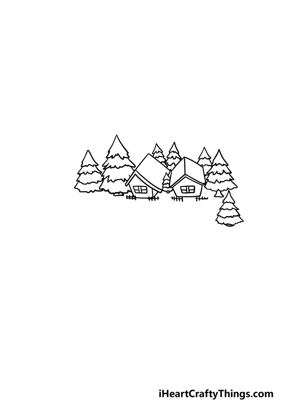 drawing a lake step 5