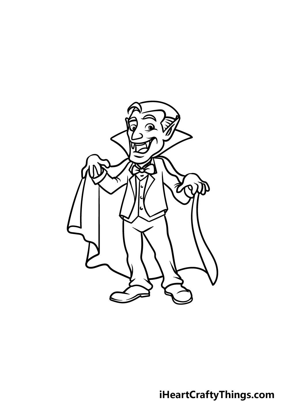 drawing a vampire step 5