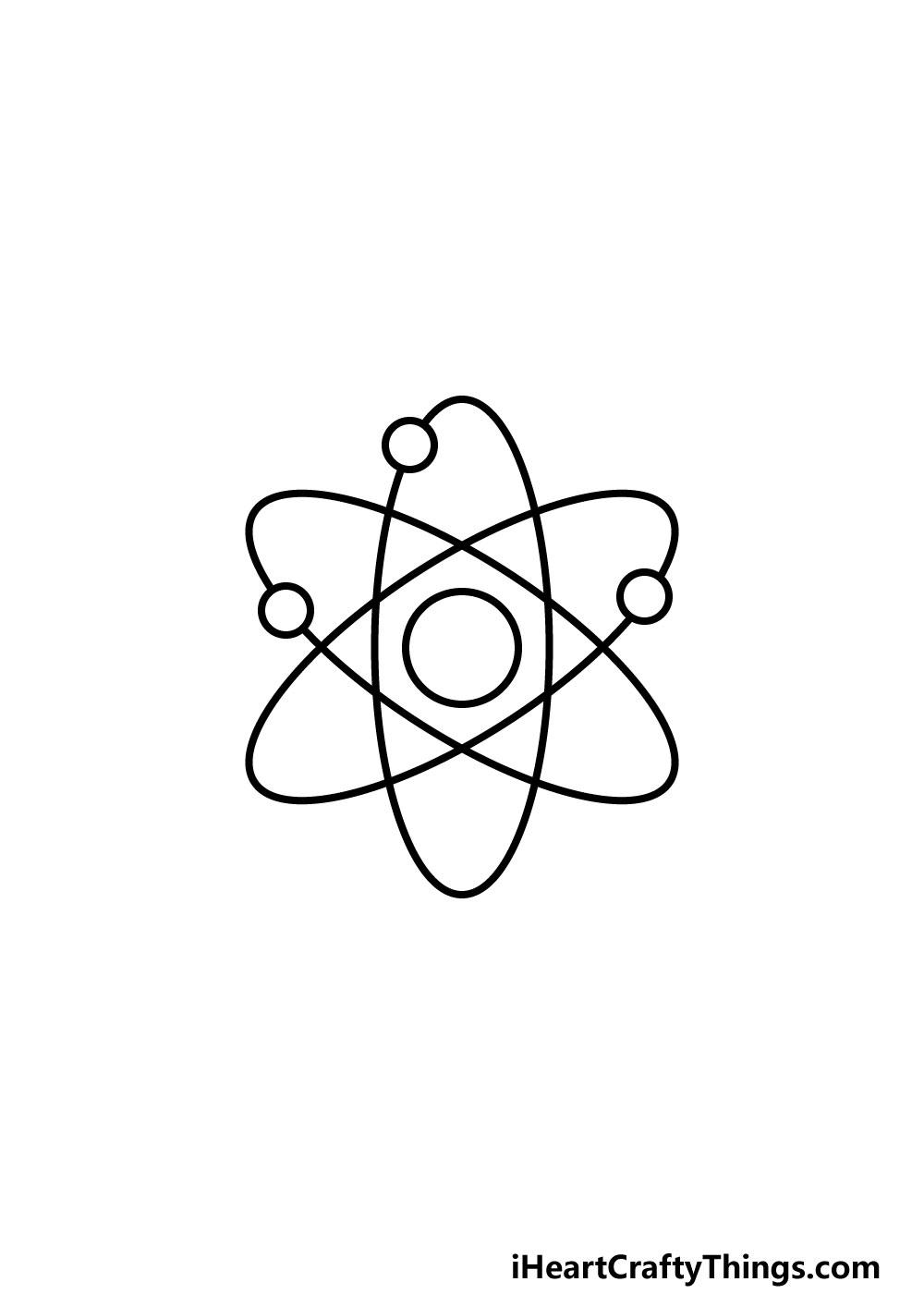 drawing an atom step 5