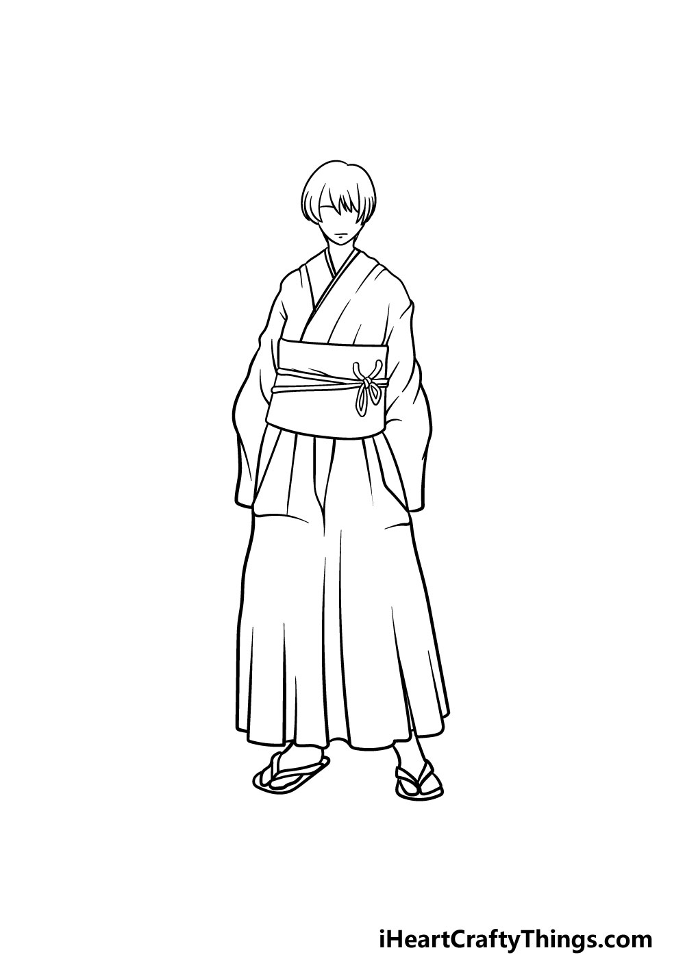 drawing anime clothes step 5