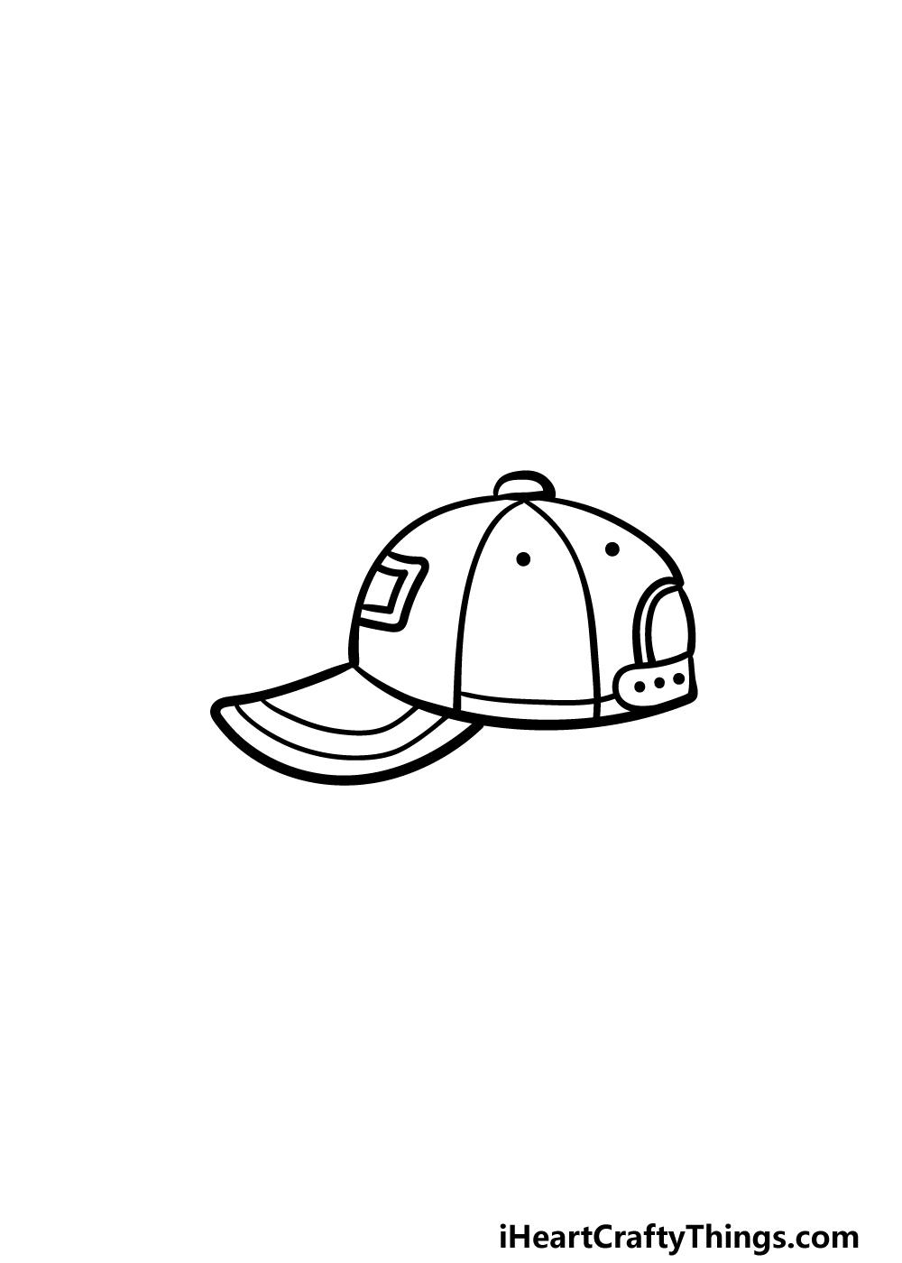 drawing a cap step 5