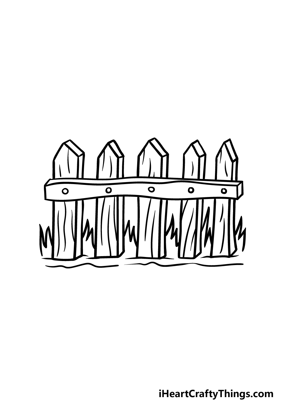 drawing fence step 5