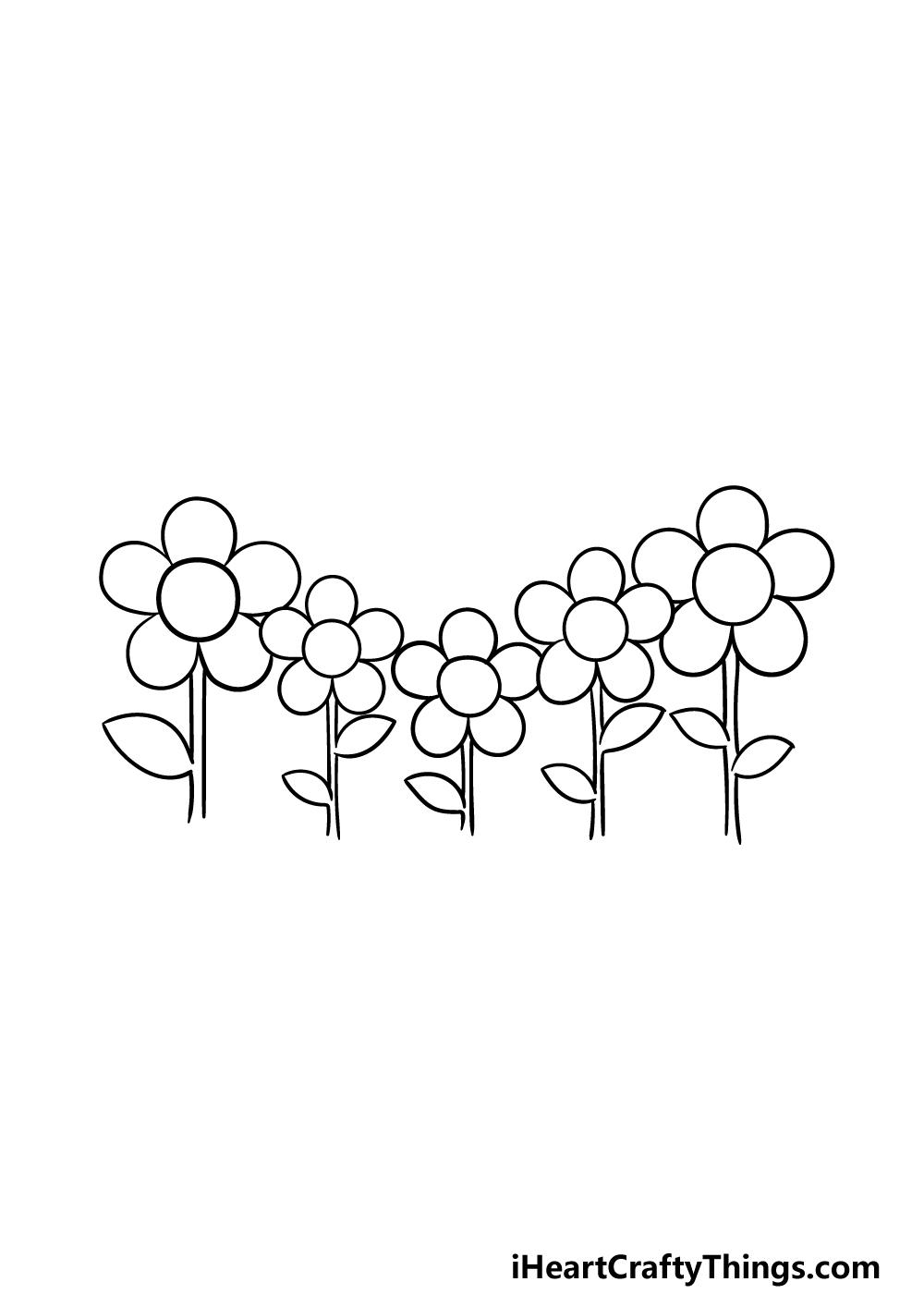 drawing a garden step 5