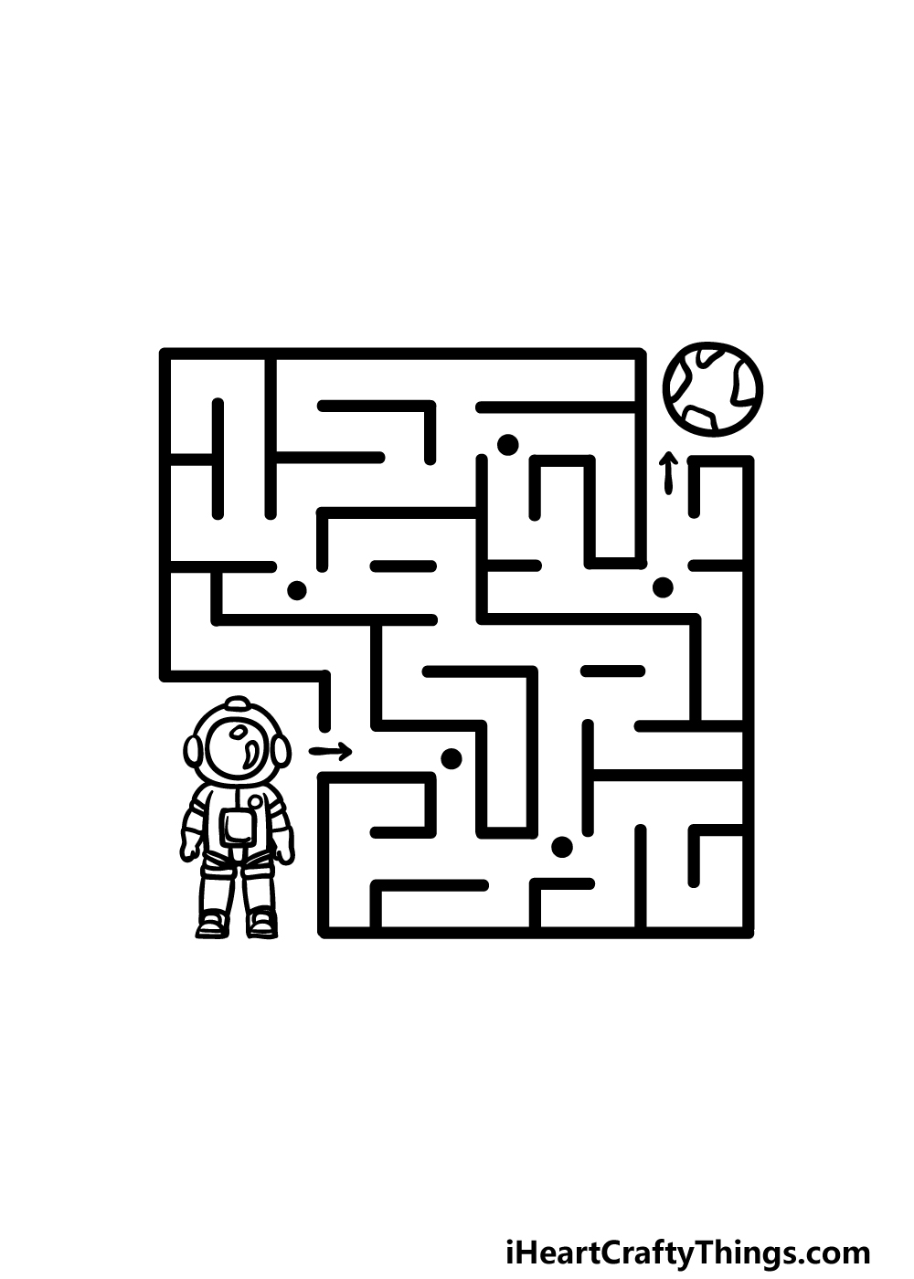 drawing a maze step 5