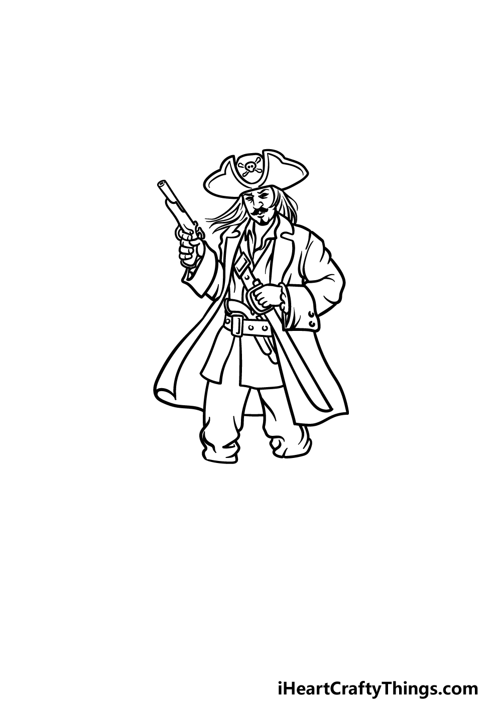 drawing a pirate step 5