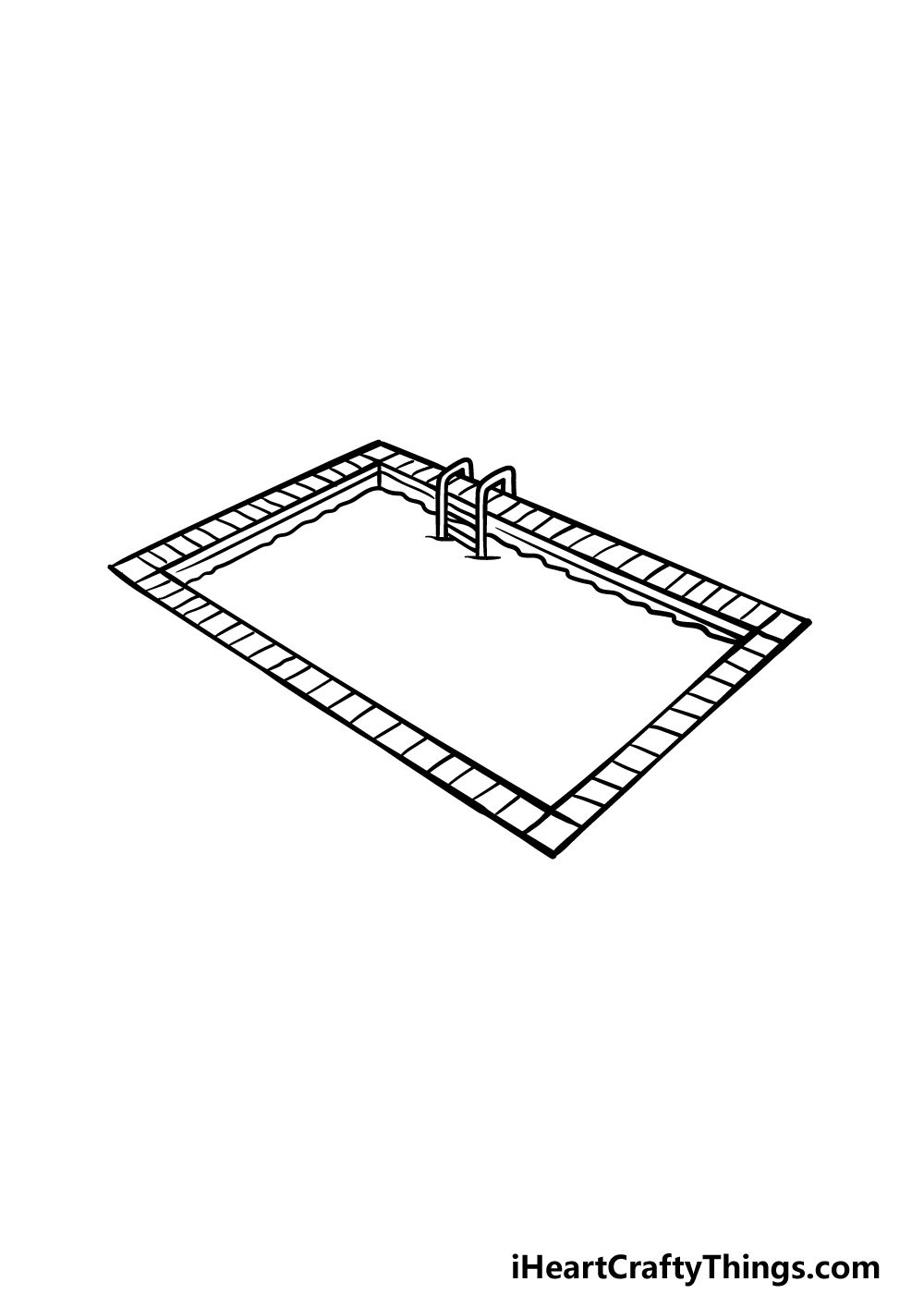drawing a pool step 5