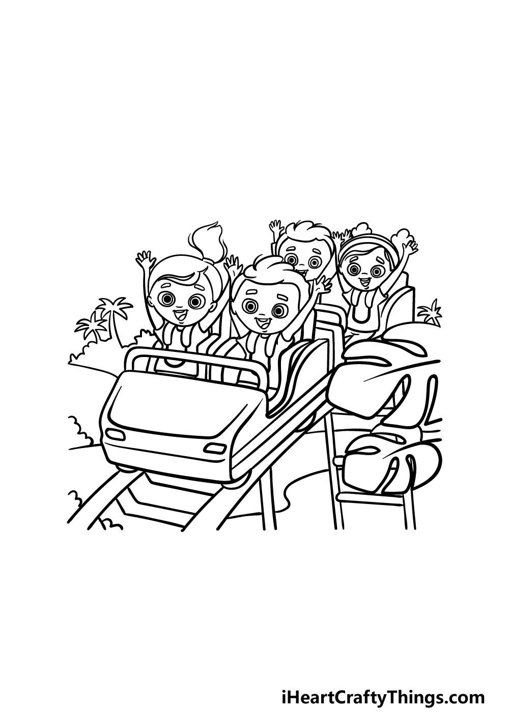 drawing a roller coaster step 6