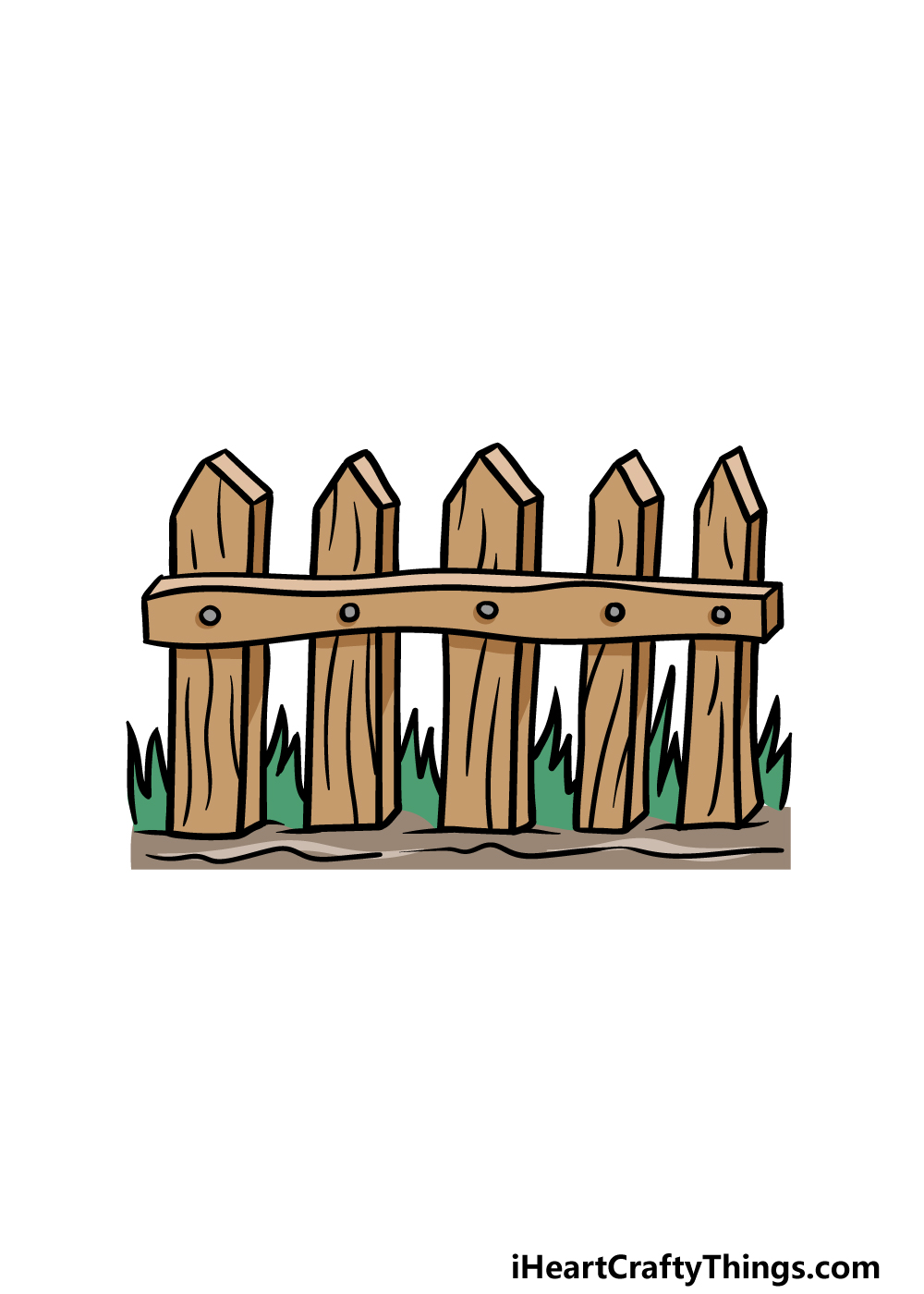 drawing fence step 6