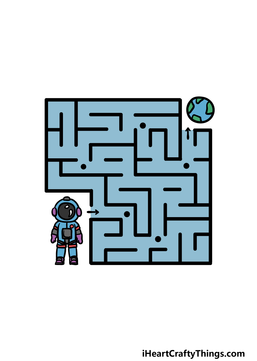 drawing a maze step 6