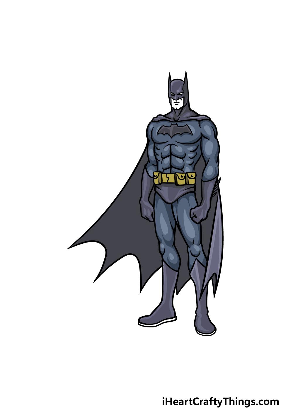 drawing Batman step 6
