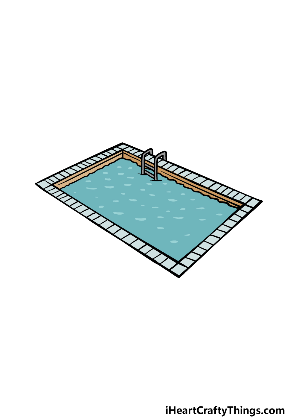 drawing a pool step 6