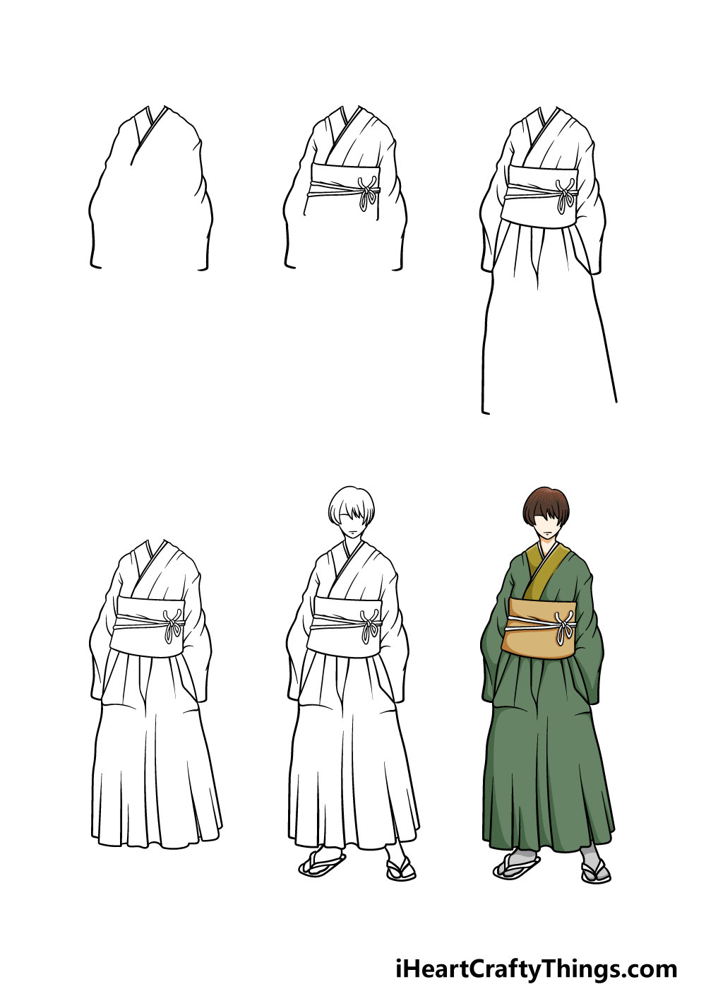 how to draw anime in 6 steps