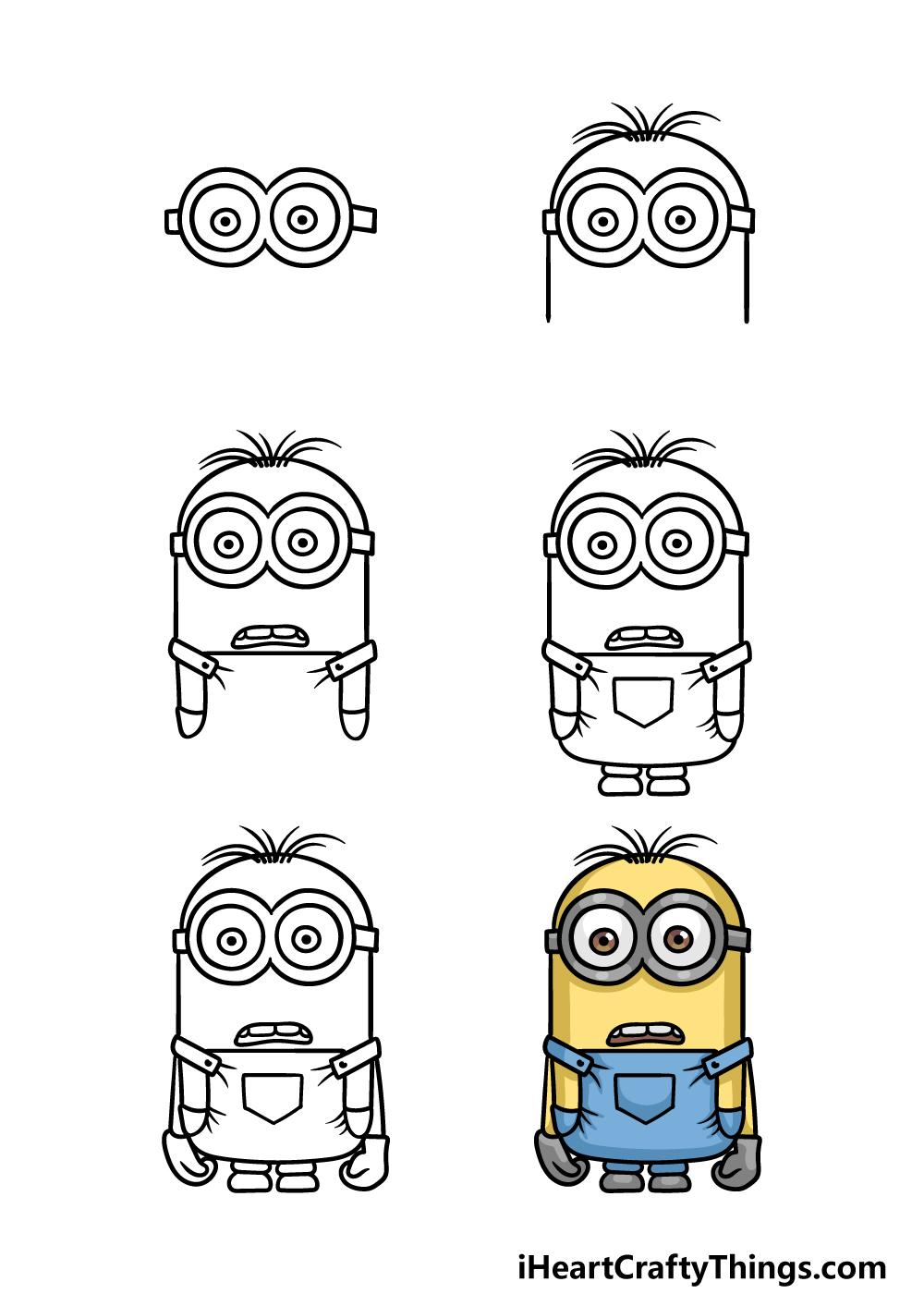 cách vẽ minion trong 6 bước