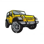 how to draw a jeep image