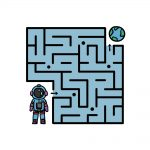 how to draw a maze image