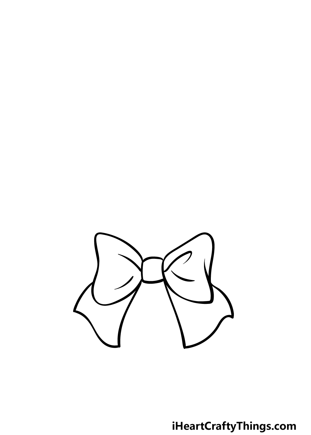 drawing a wreath step 1