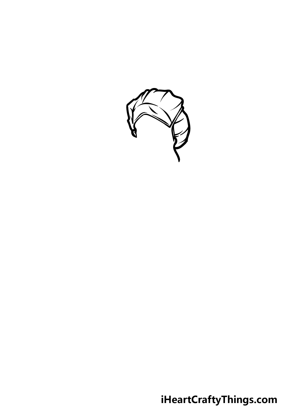drawing a nurse step 1