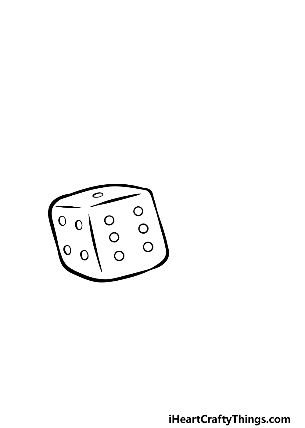 drawing the dice step 1
