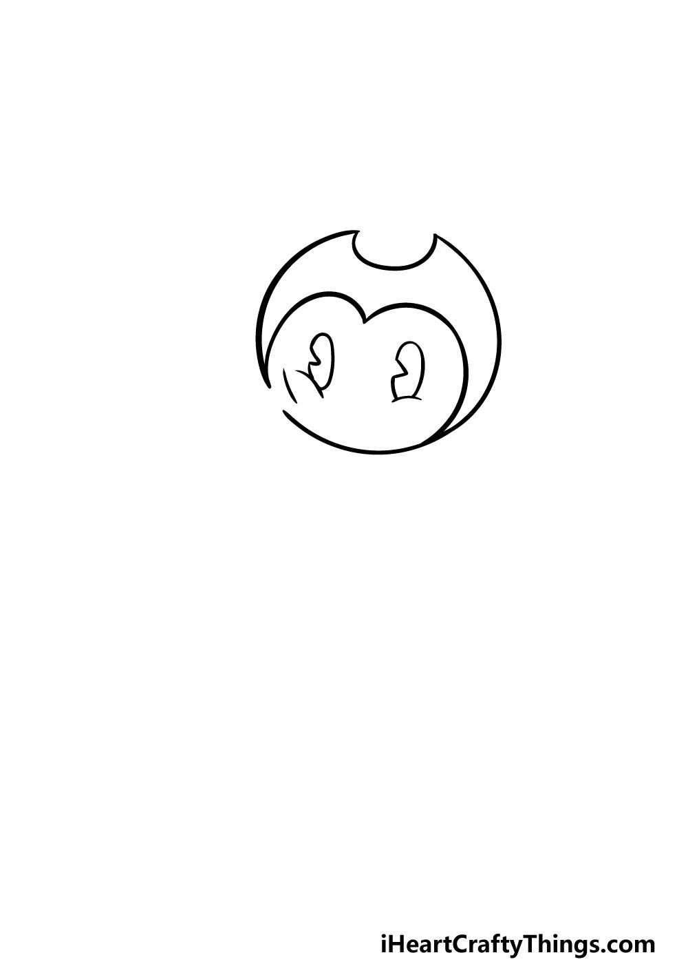 drawing Bendy step 1