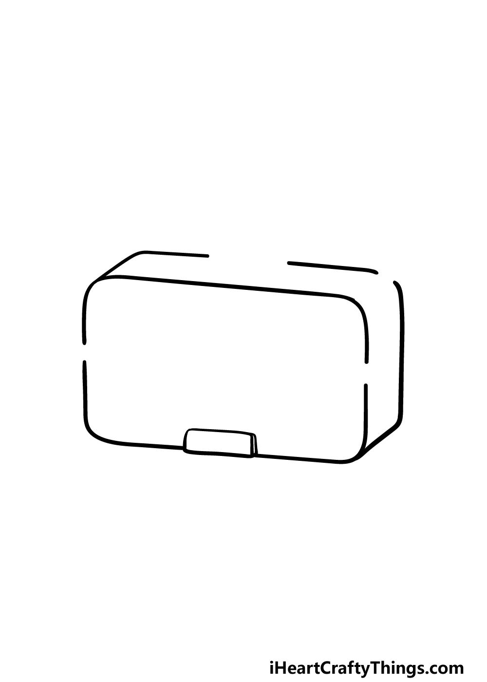 drawing a radio step 1