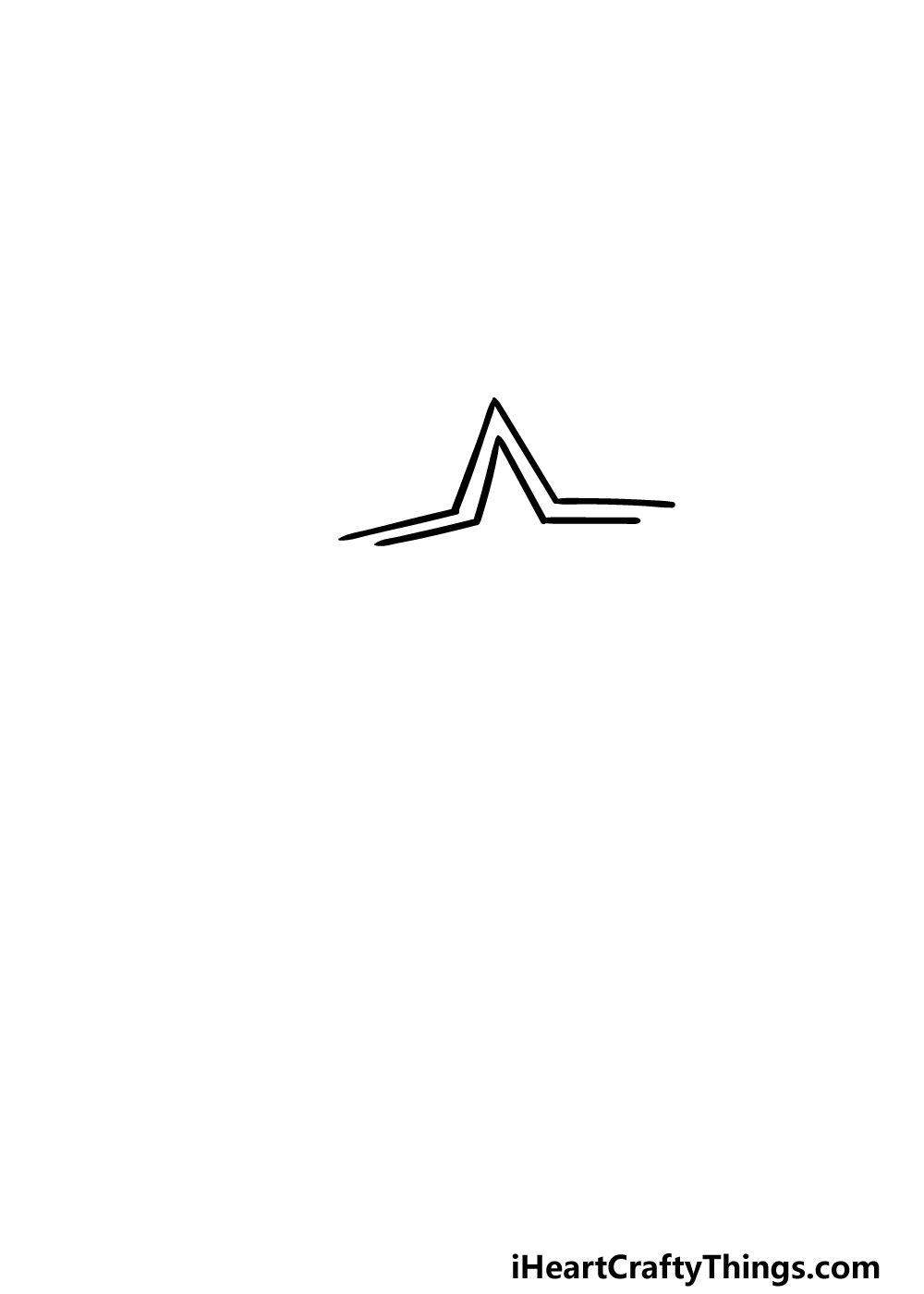 drawing a Shooting Star step 1