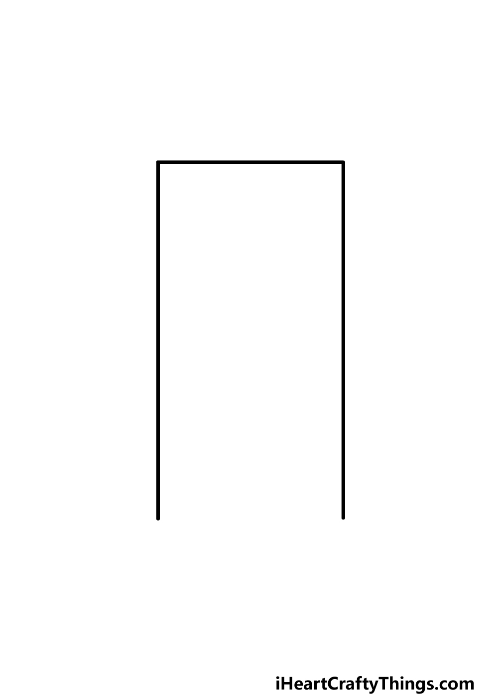 drawing a door step 1