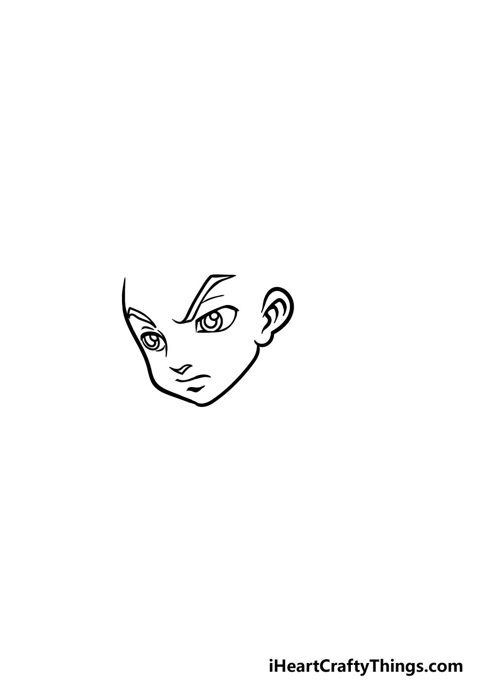 drawing Boondocks step 1