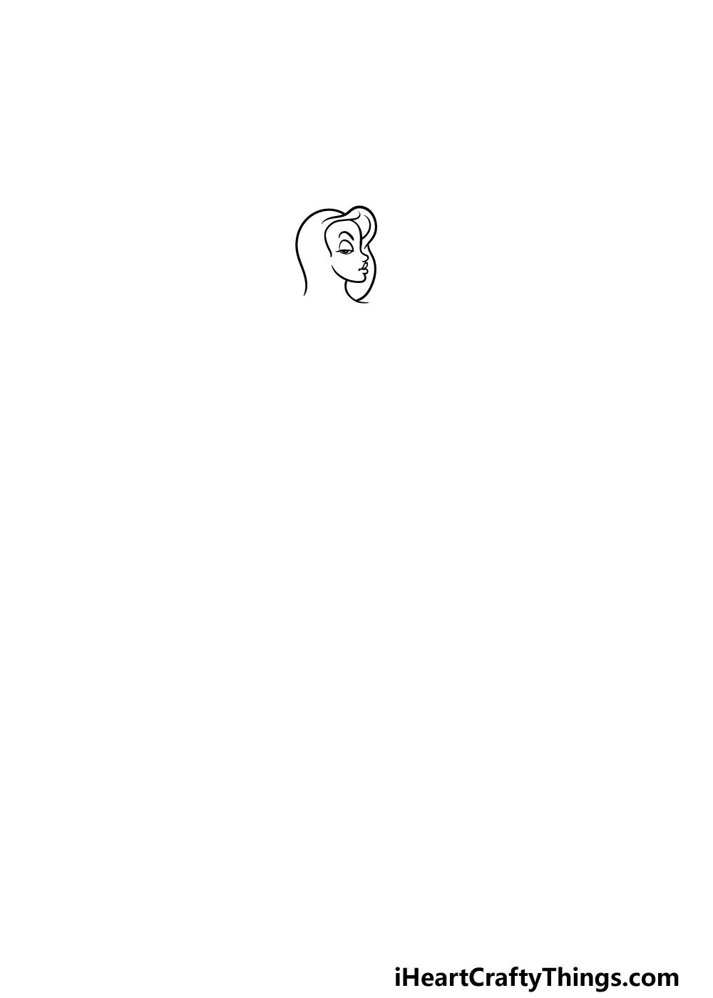 drawing Jessica Rabbit step 1