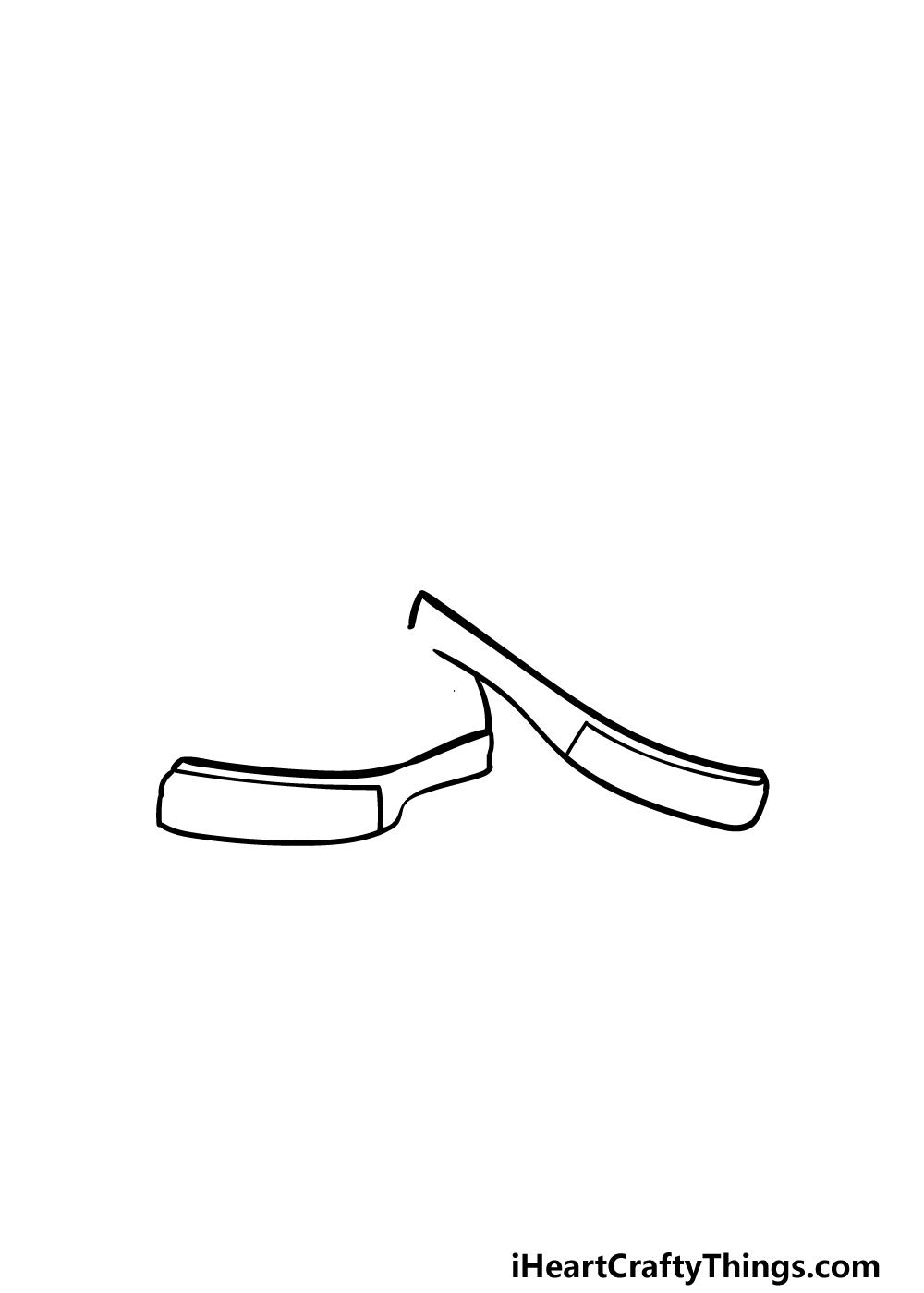 drawing converse step 1