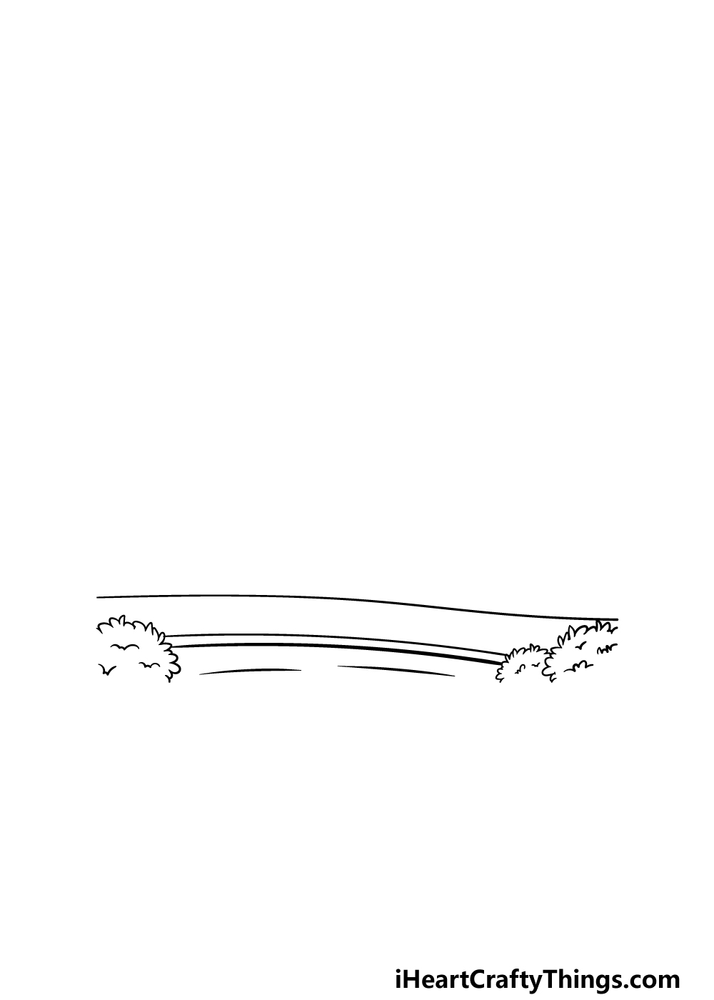 drawing a park step 1