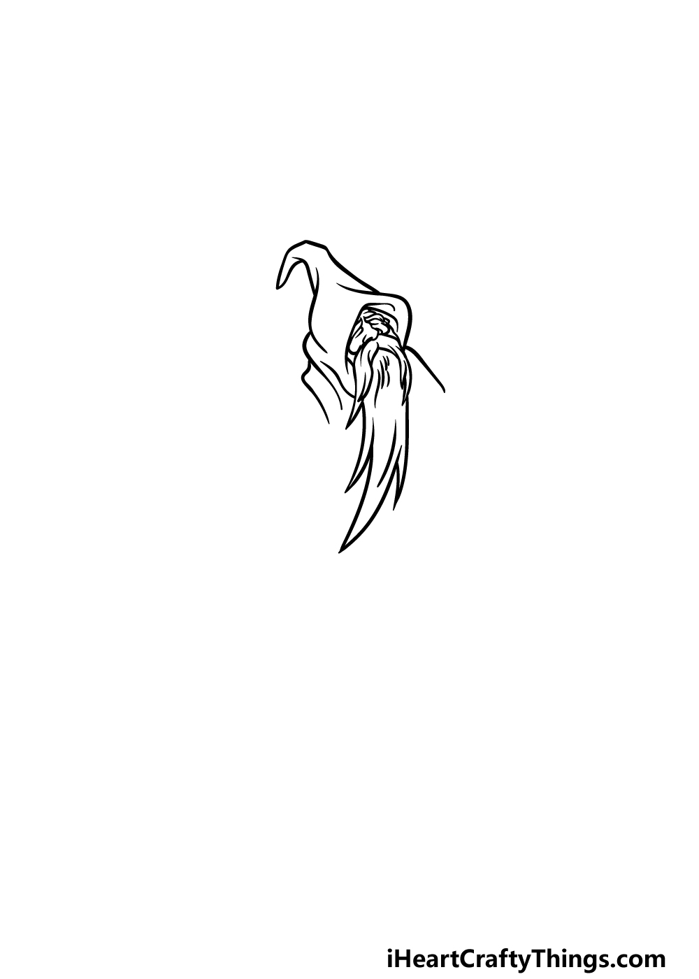 drawing a wizard step 2