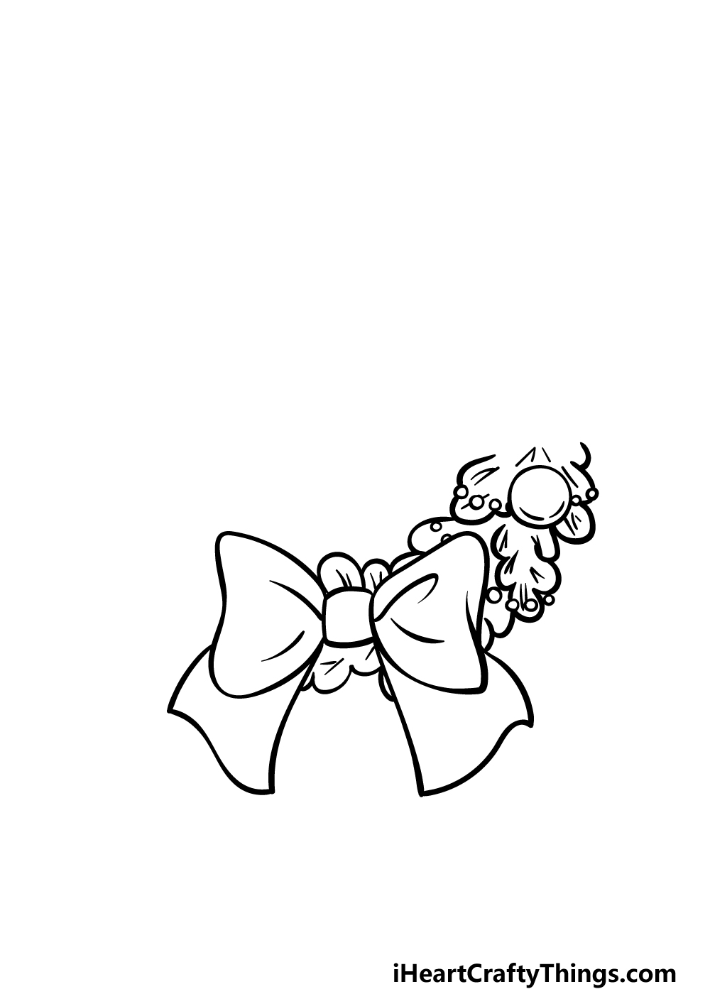 drawing a wreath step 2