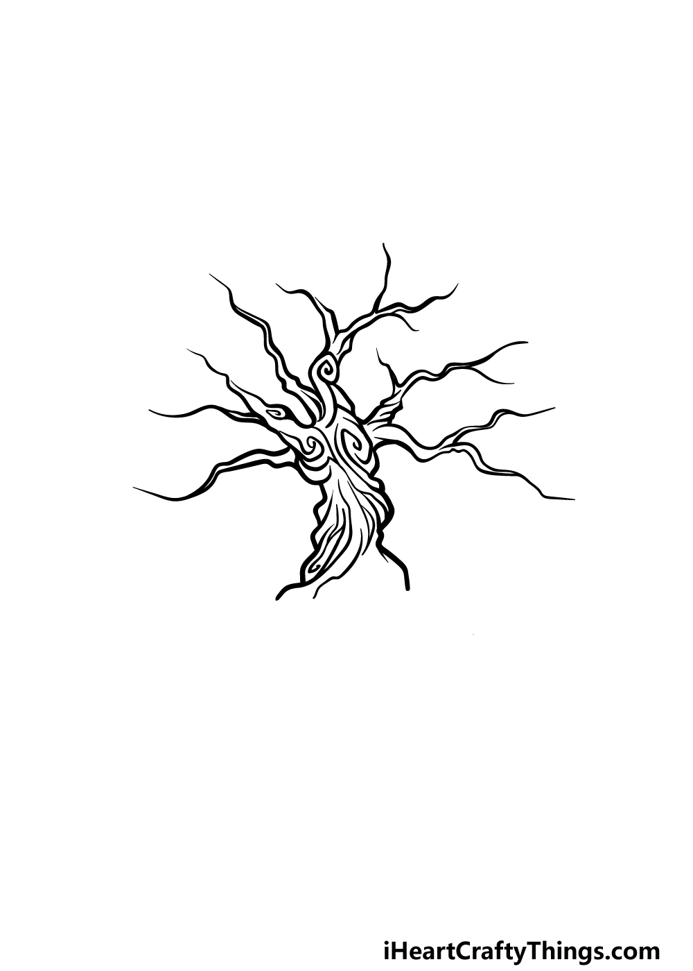 drawing the tree of life step 2