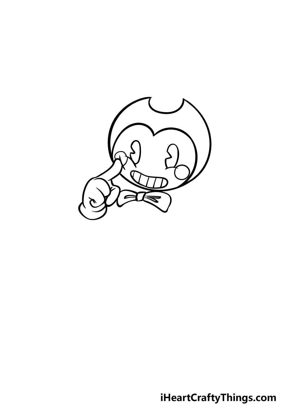 drawing Bendy step 2