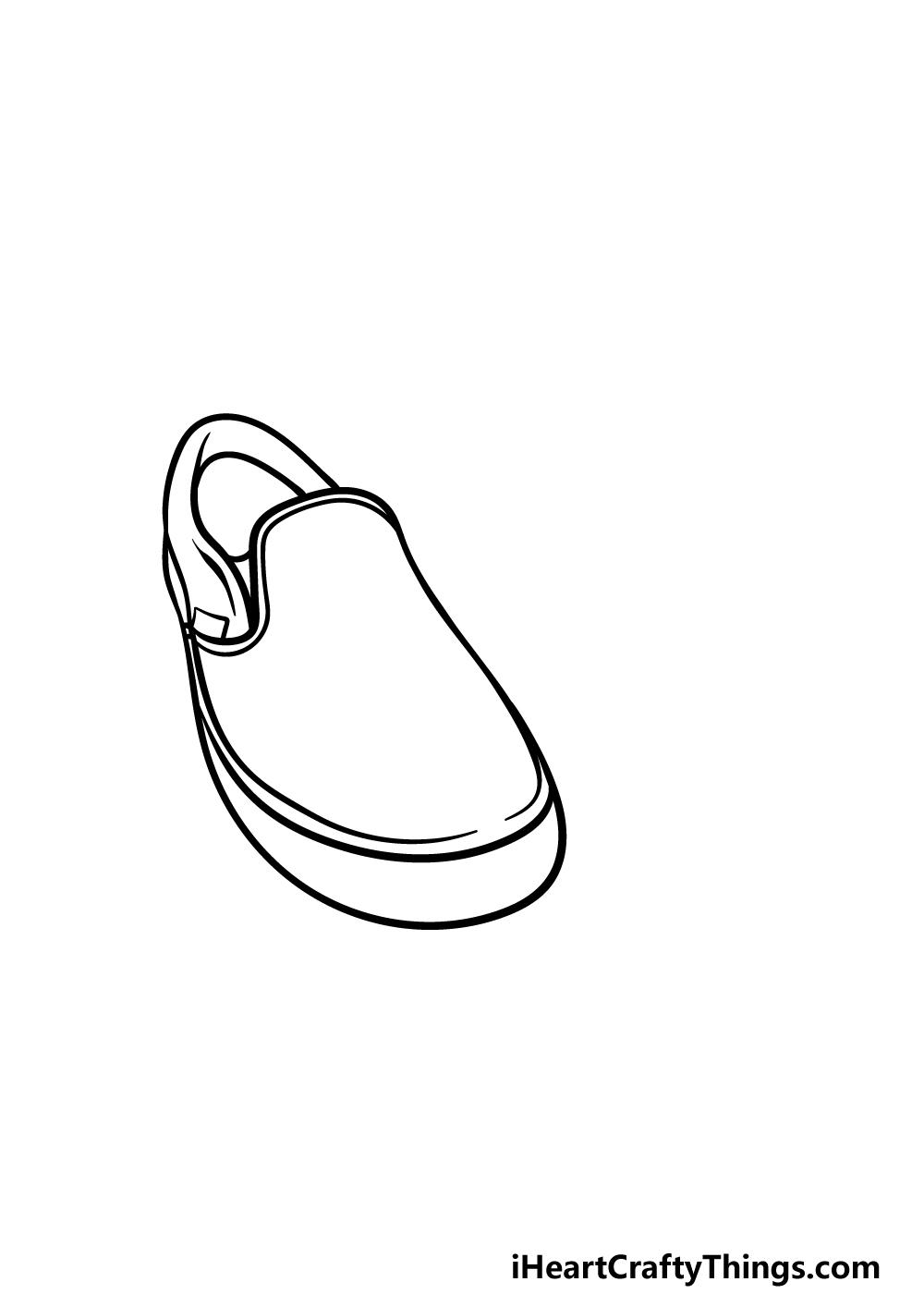 drawing vans shoes step 2