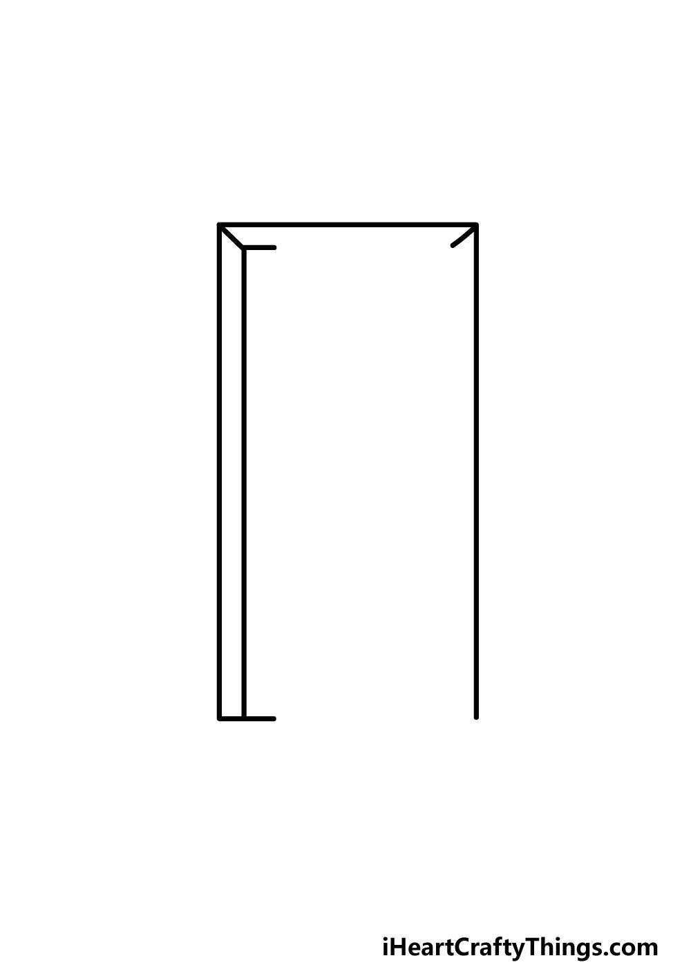 drawing a door step 2